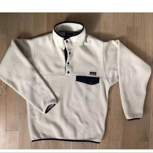 Small Patagonia Synchilla Snap T Oatmeal Heather